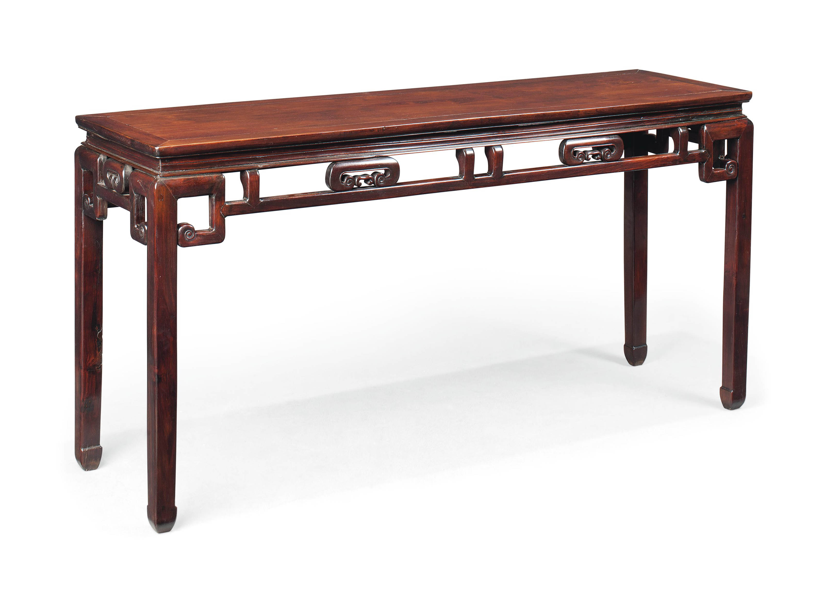 A CHINESE HONGMU  ALTAR TABLE
