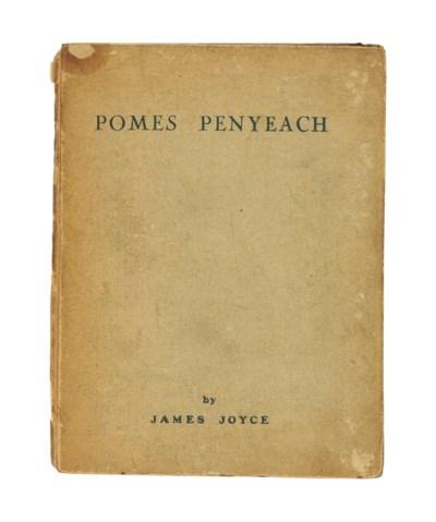 JOYCE, James (1882-1941). Pome