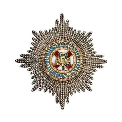 Order of St. Patrick, Star