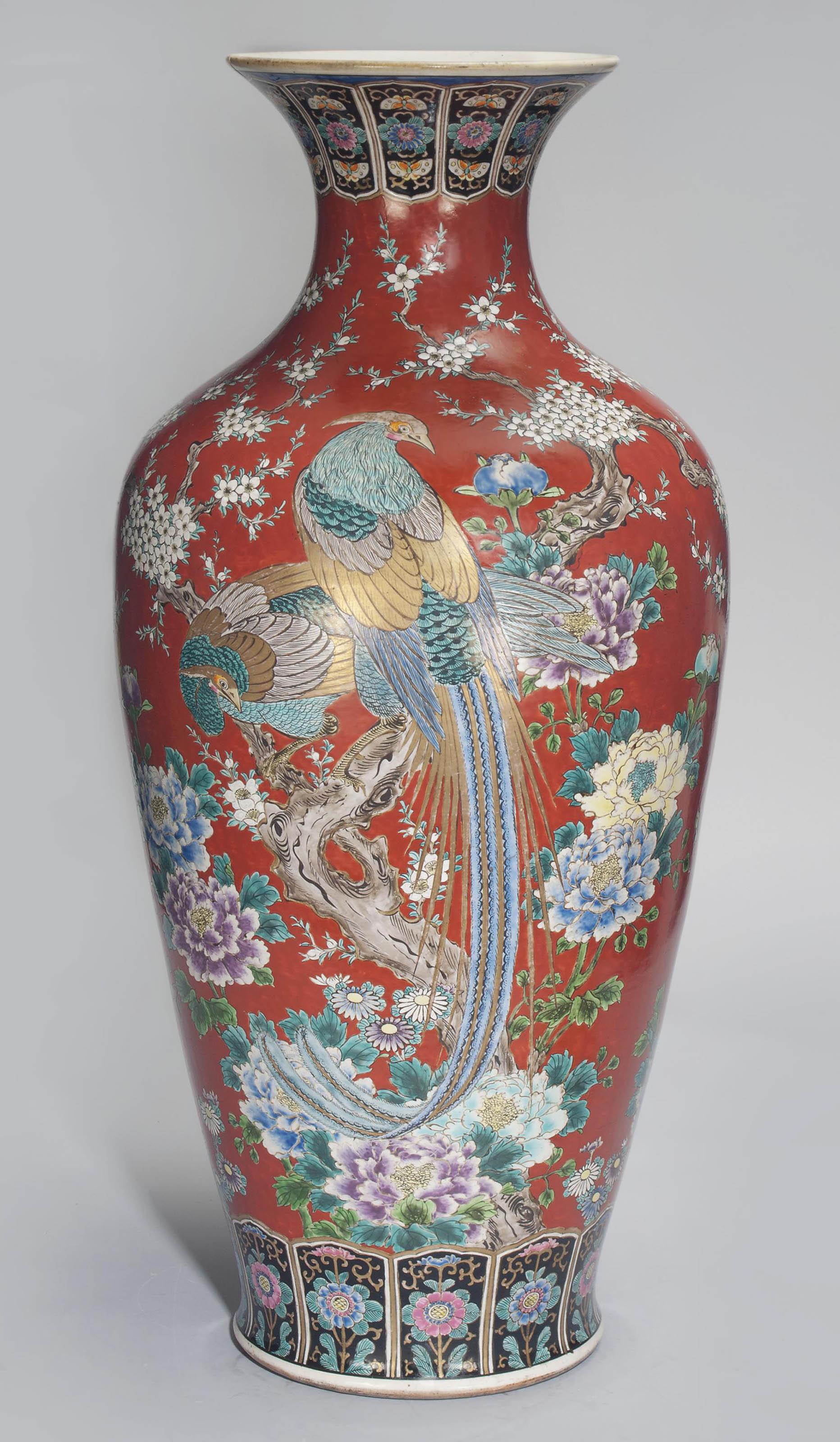 A Large Fukagawa Vase