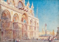 View of St. Mark's Cathedral, Venice