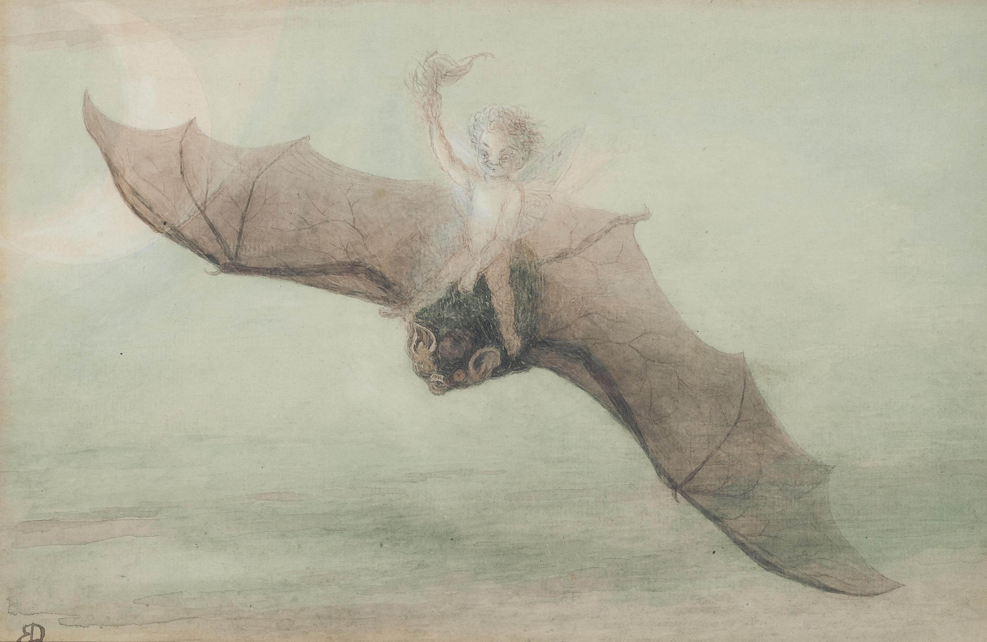 The fairy's flight