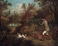 A pheasant shoot