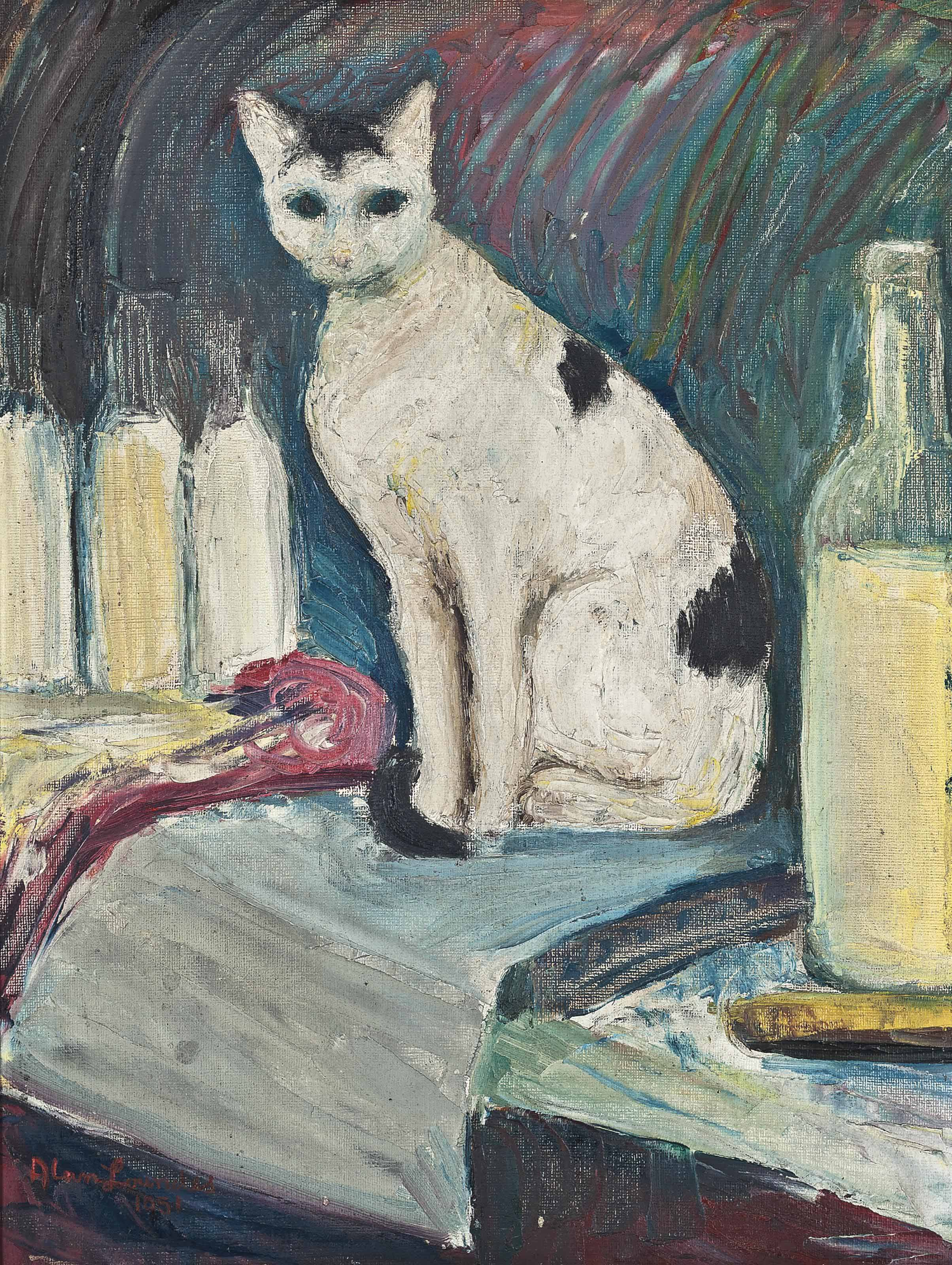Bog's Cat (Lulu-belle)