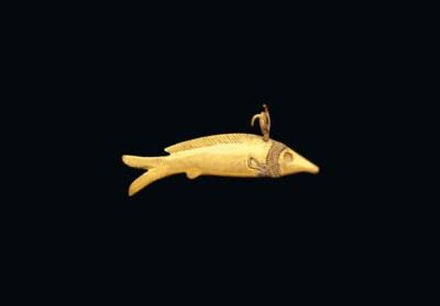AN EGYPTIAN GOLD OXYRHYNCHUS F