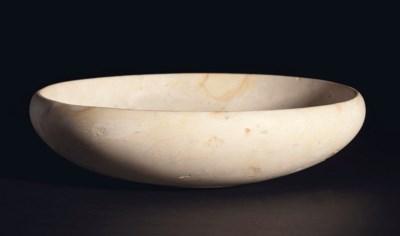 AN EGYPTIAN LIMESTONE BOWL