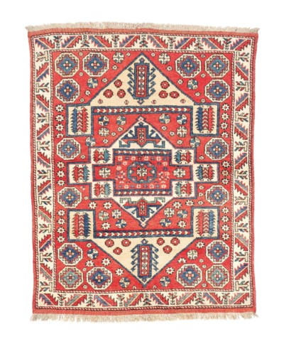 An antique Bergama large rug