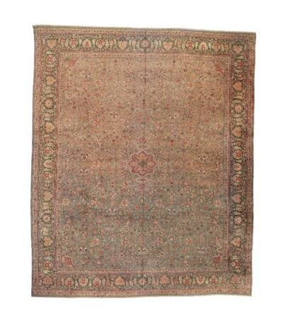 An unusual Indian carpet