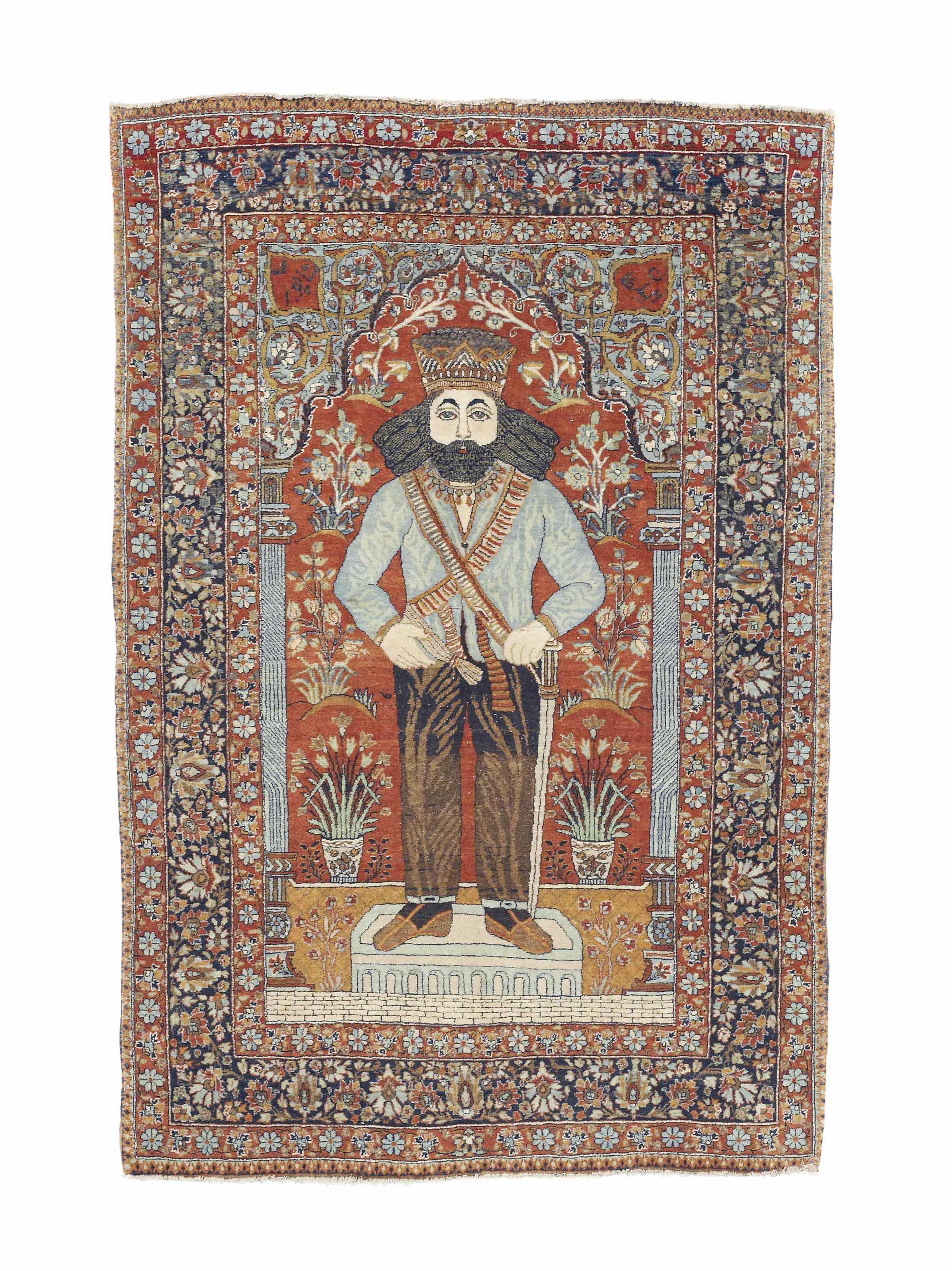 A very fine Kurk Kashan pictor