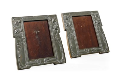 A PAIR OF ARCHIBALD KNOX FOR L