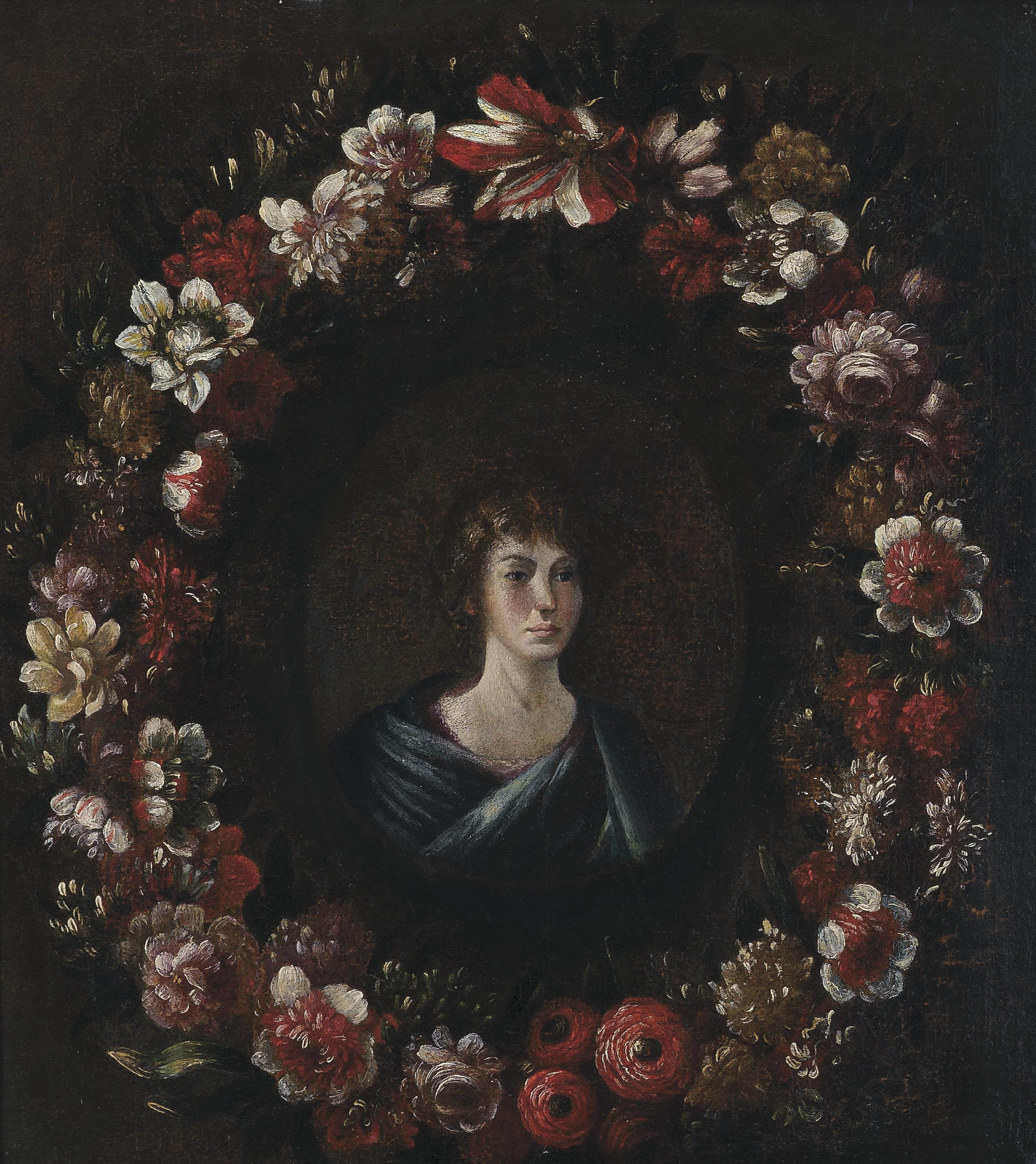 Circle of Abraham Brueghel (An