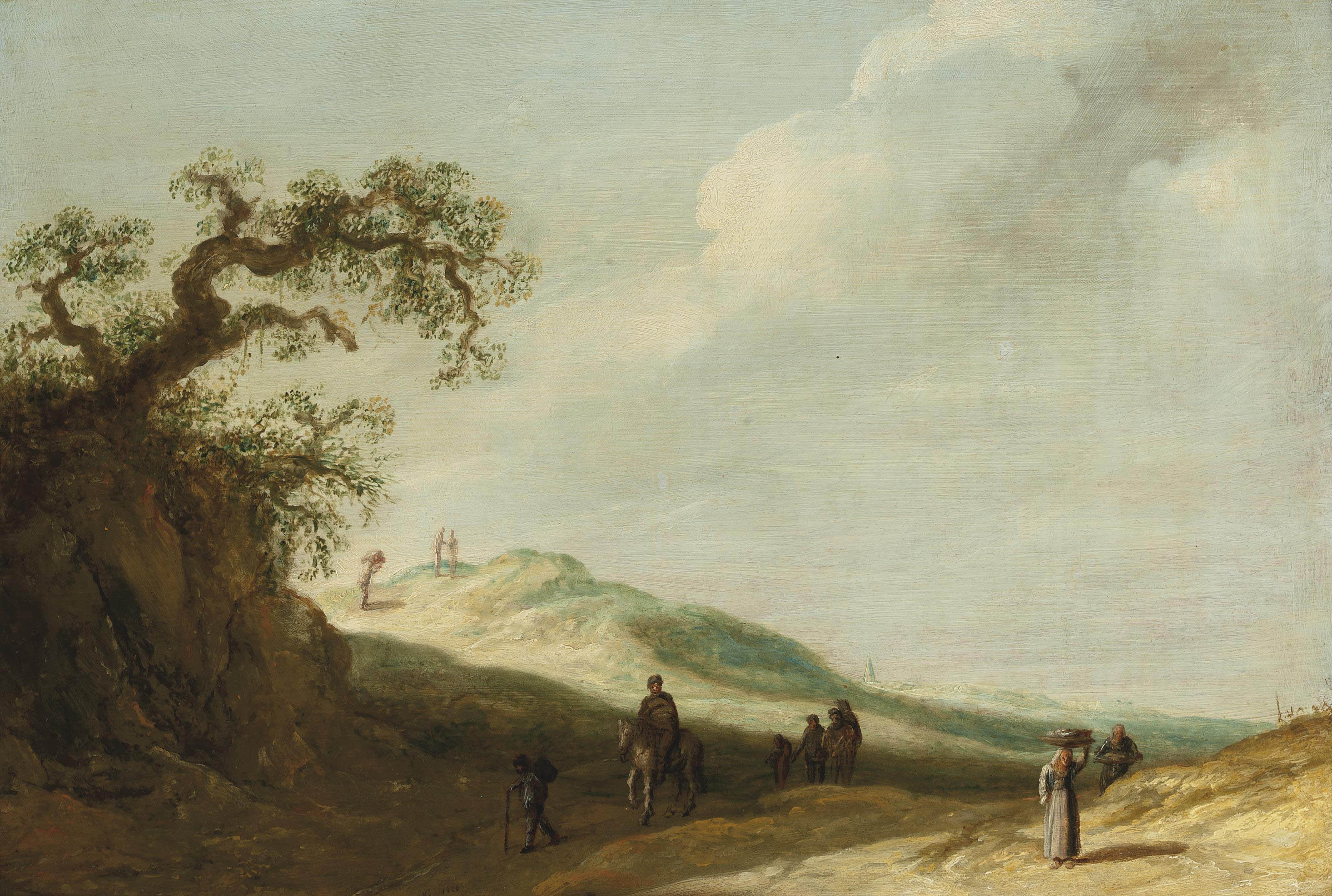 Circle of Jan van Goyen (Leide