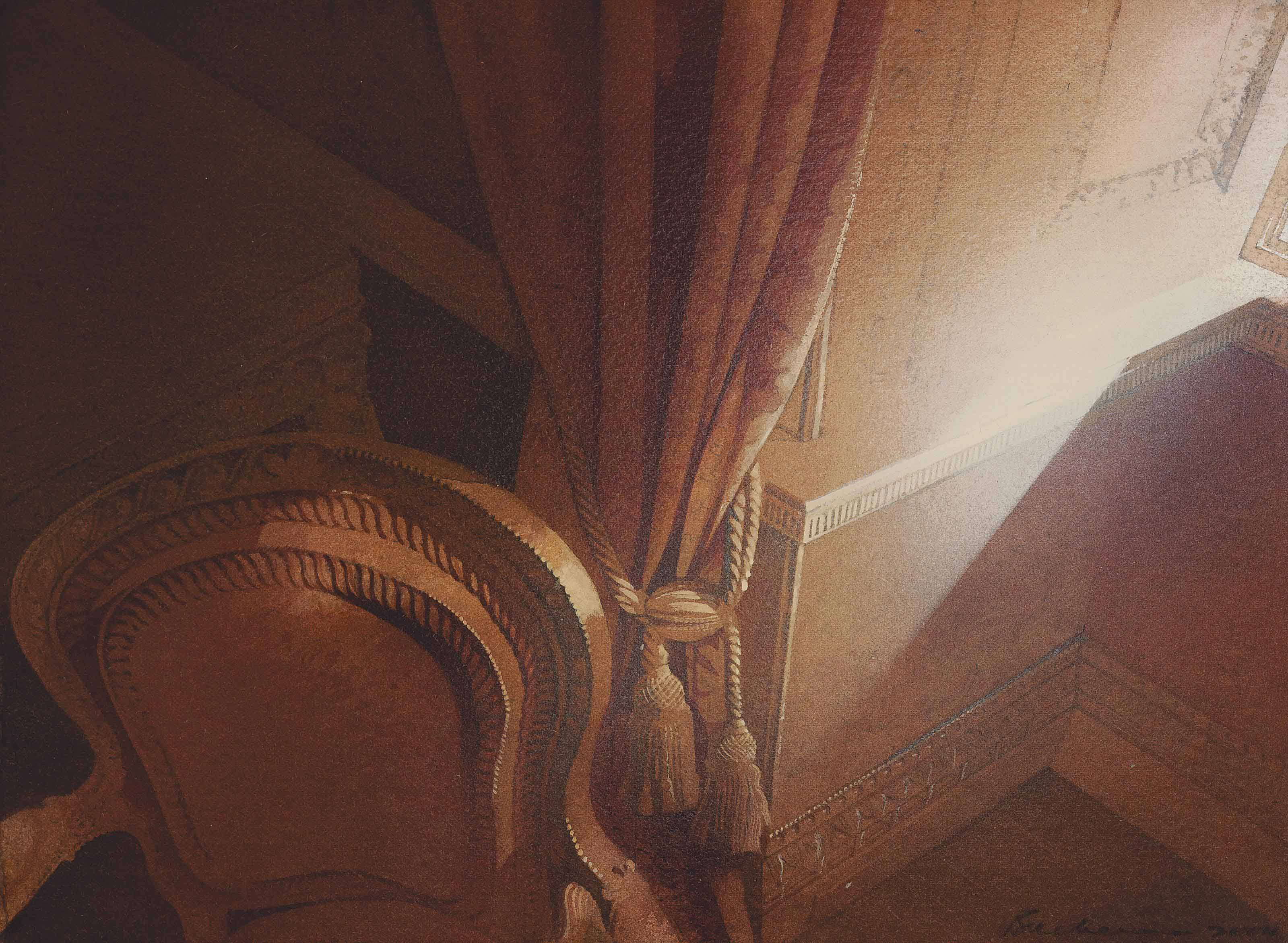 Dusty sunlight at Syon House
