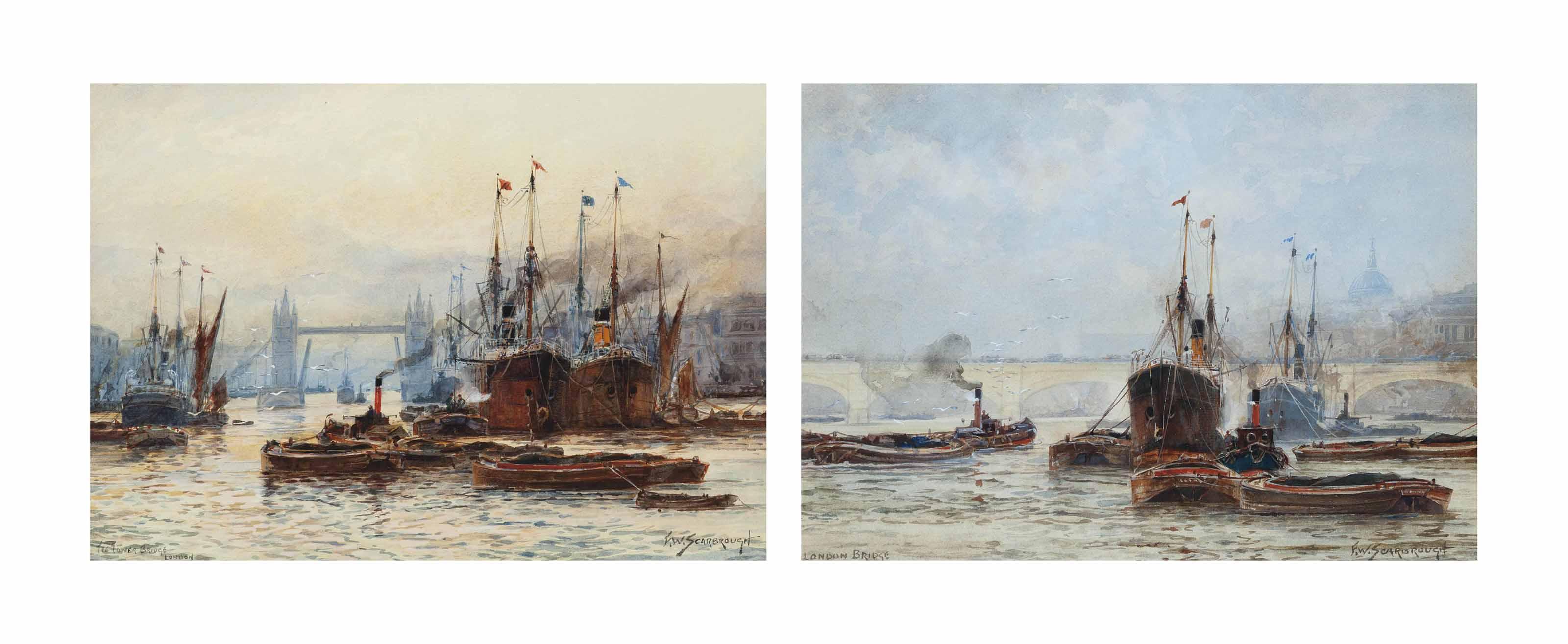 Tower Bridge; and Greenwich Reach
