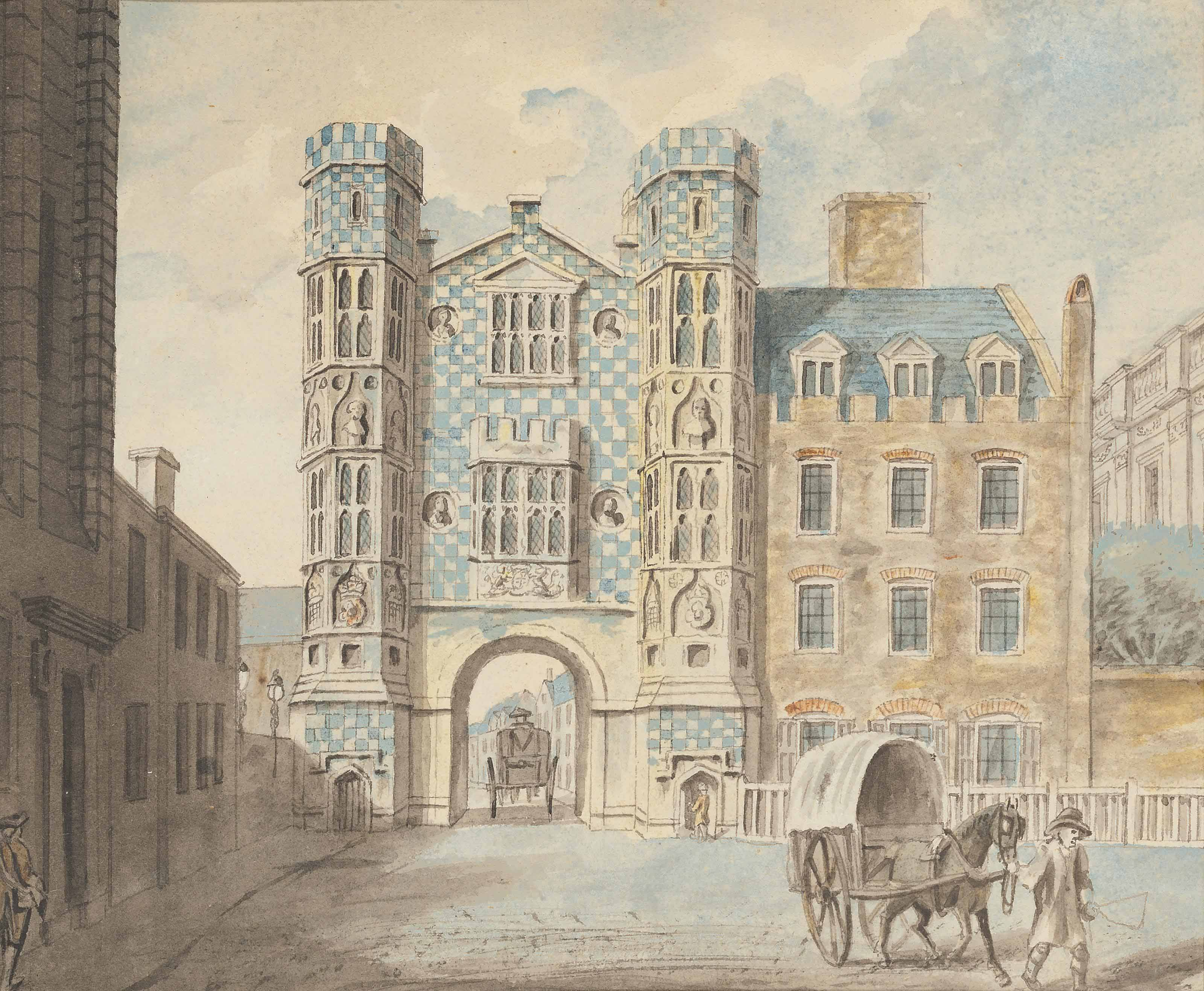 The Holbein Gate, Whitehall