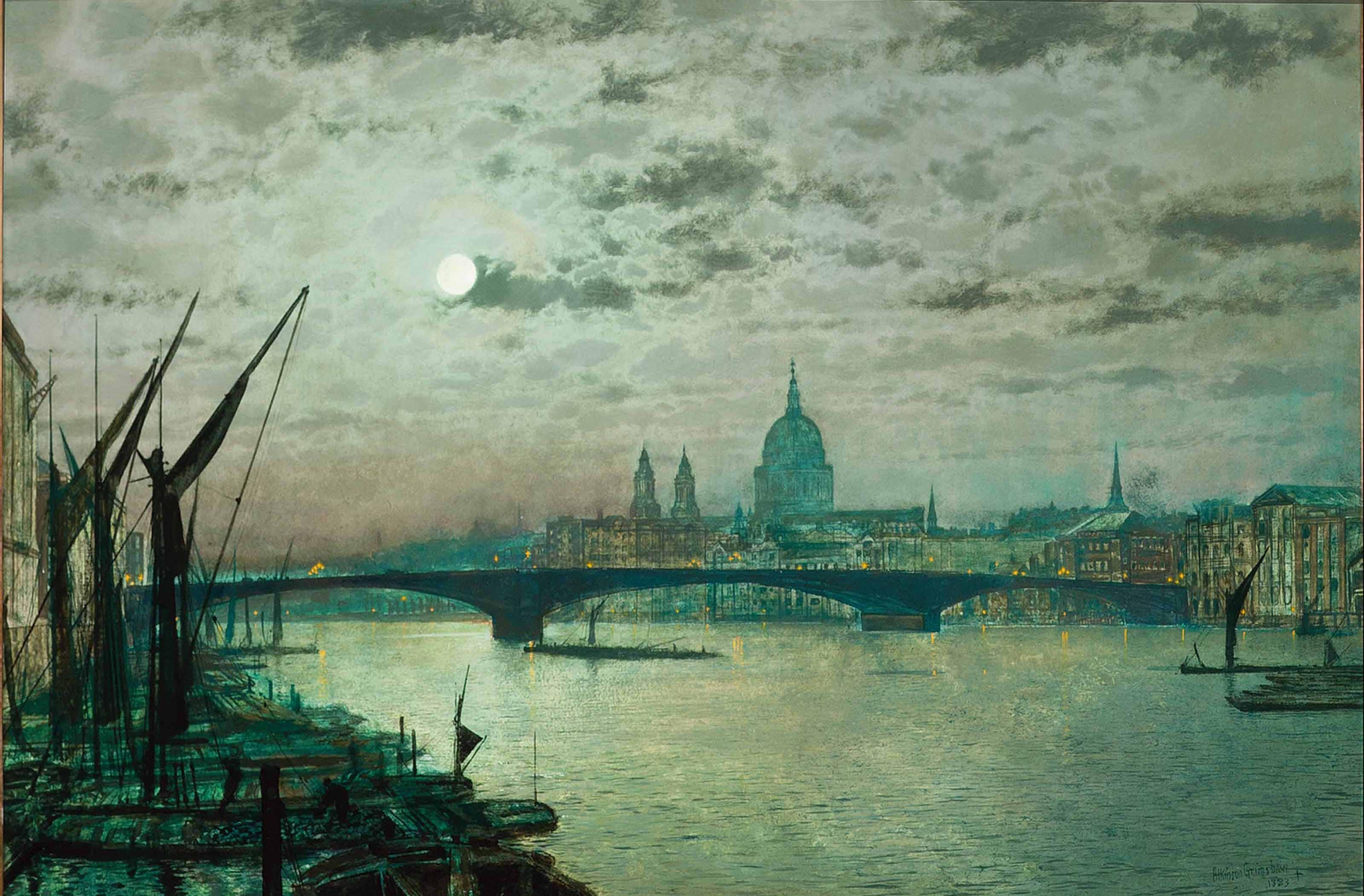 Southwark Bridge and St. Paul's