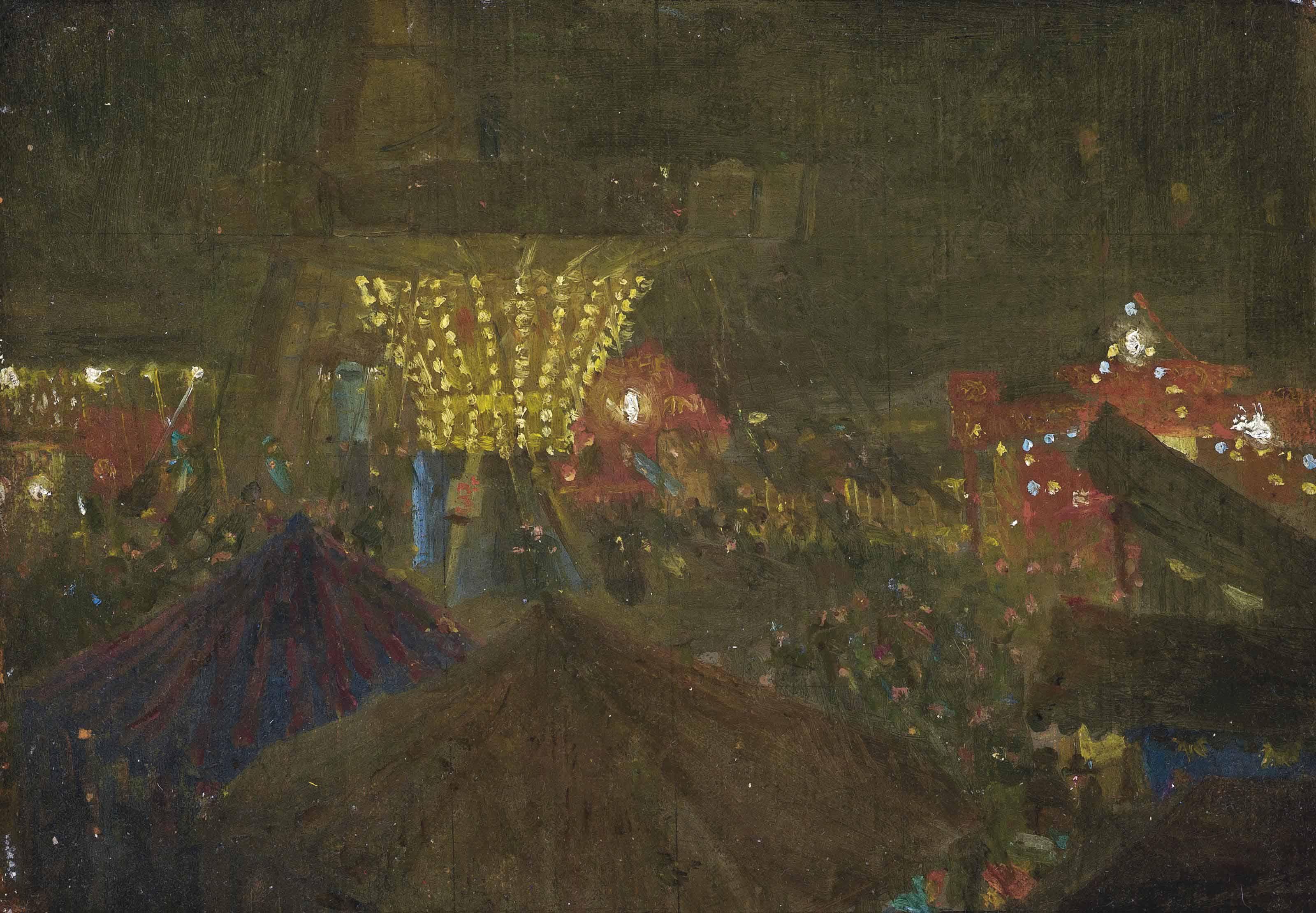 O'Brien's West End Amusement Park, Tottenham Court Road, 1925