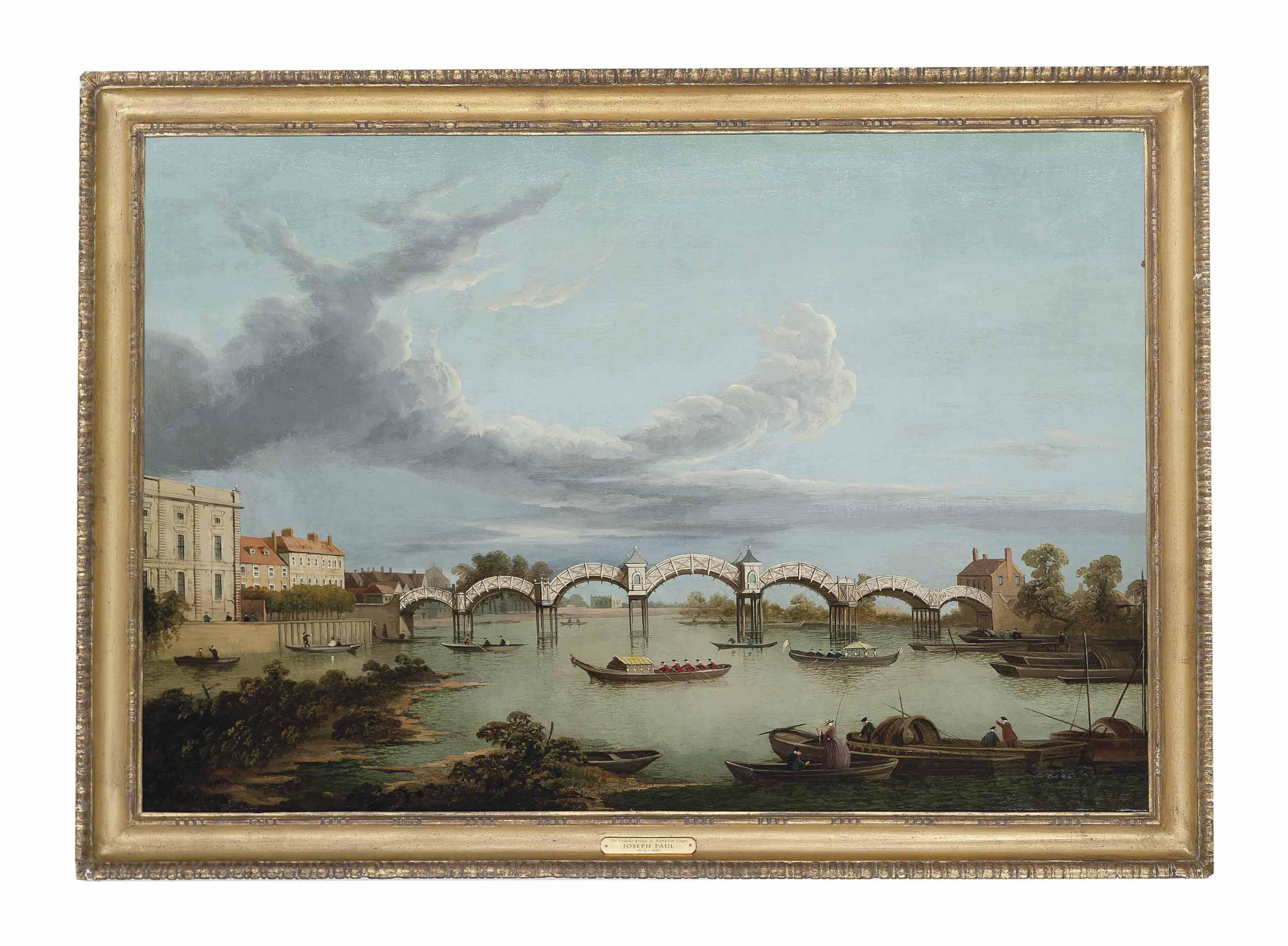 The Pagoda Bridge at Hampton Court