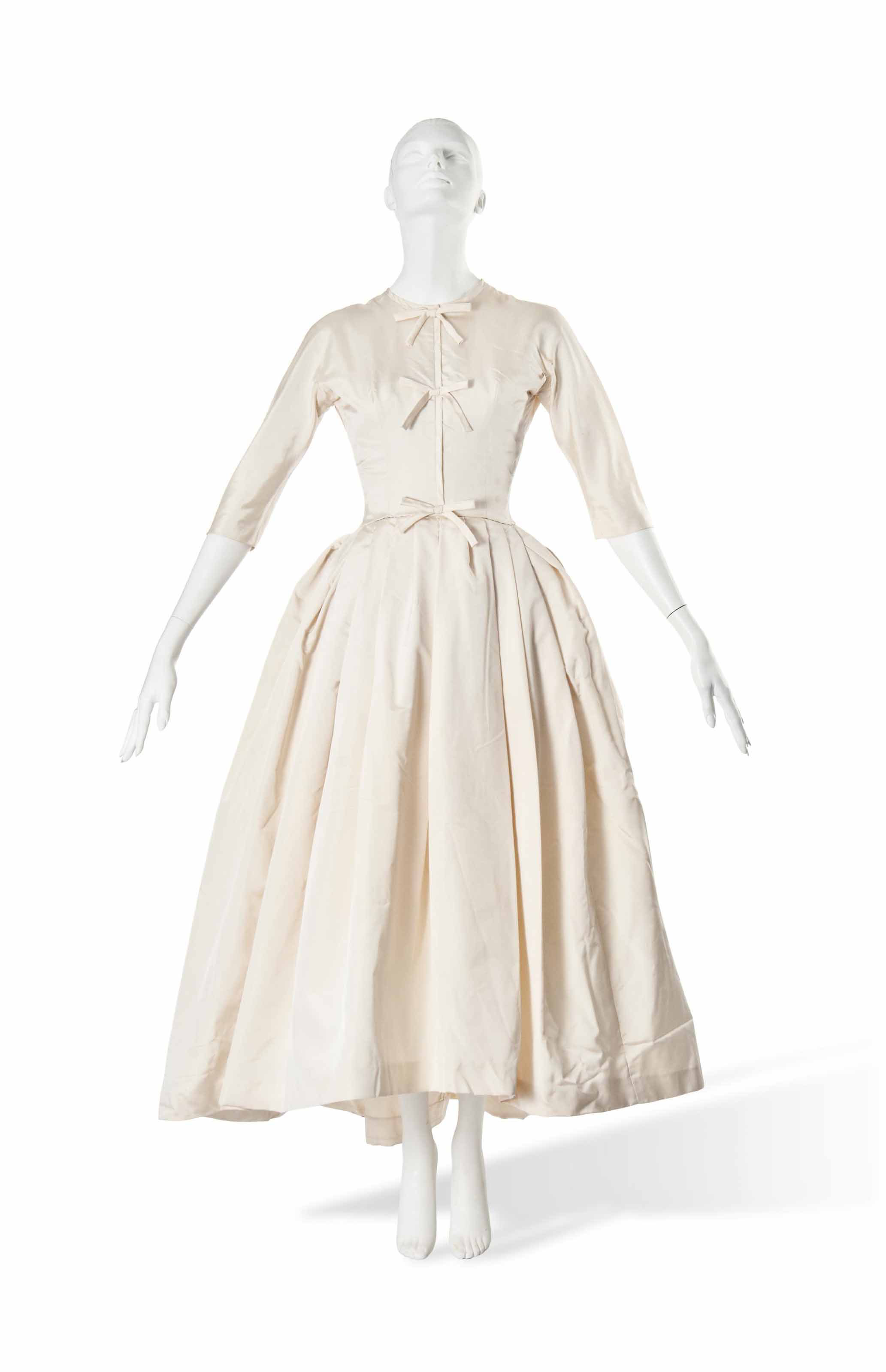 A Christian Dior Wedding Dress 1950s 20th Century Dress