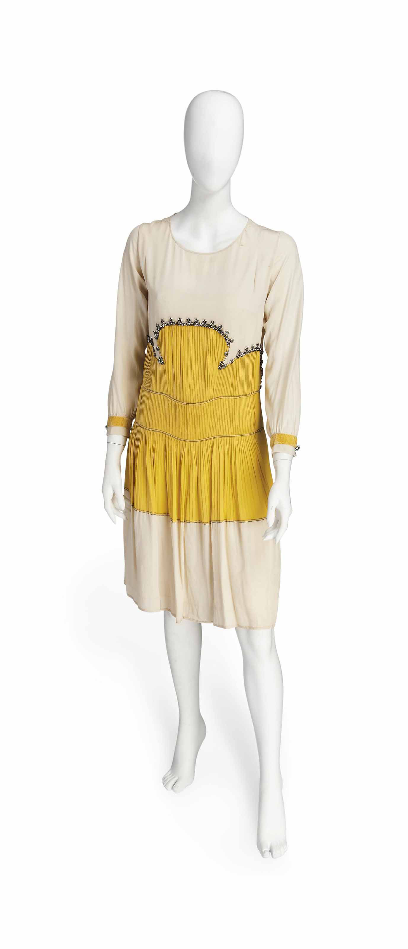 COUCOU, A JEANNE LANVIN DAY DRESS