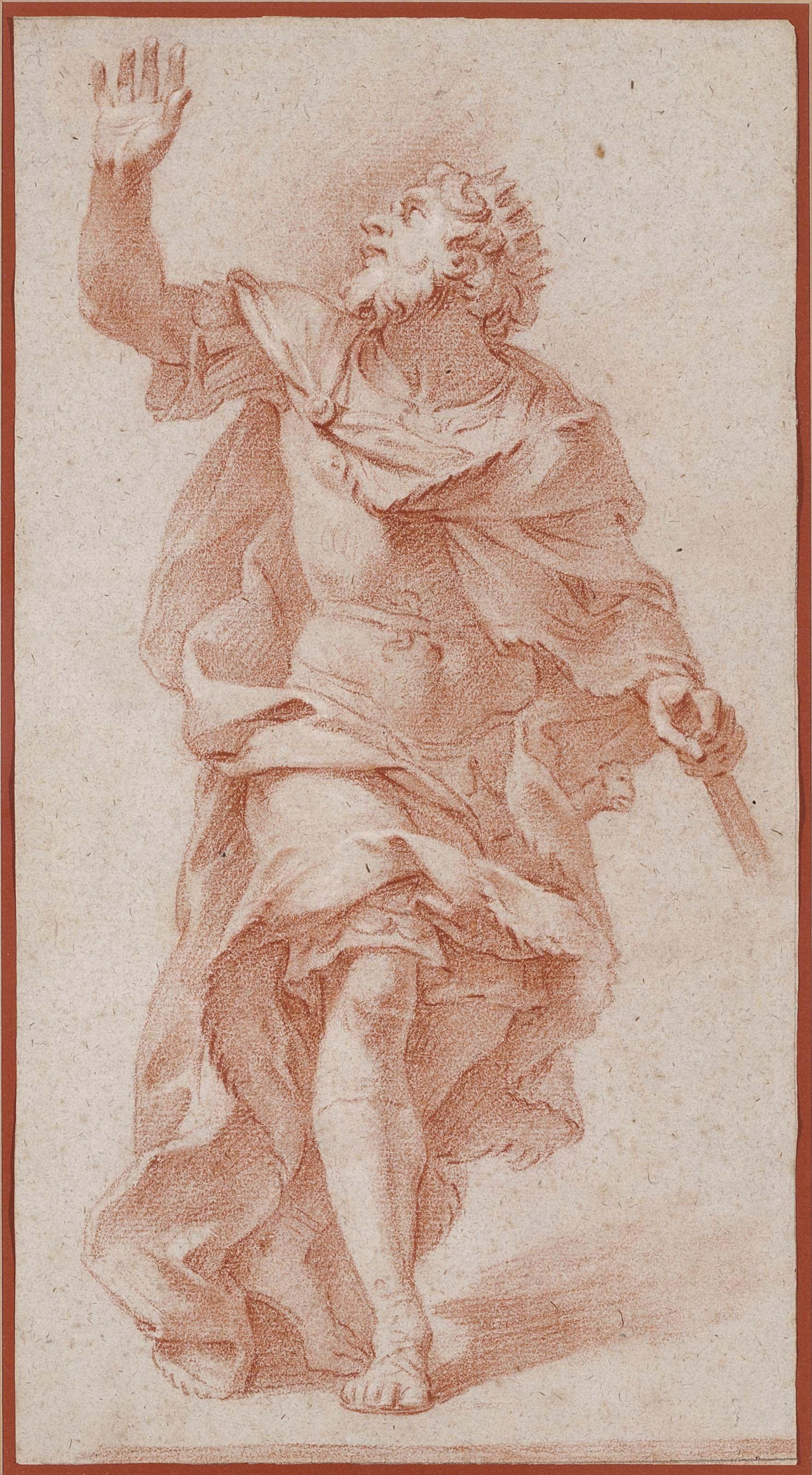 Attila, seen from behind, after Alessandro Algardi