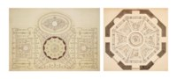 Chute Lodge, near Andover: Designs for the Ceilings of the Dining and Octagon Rooms