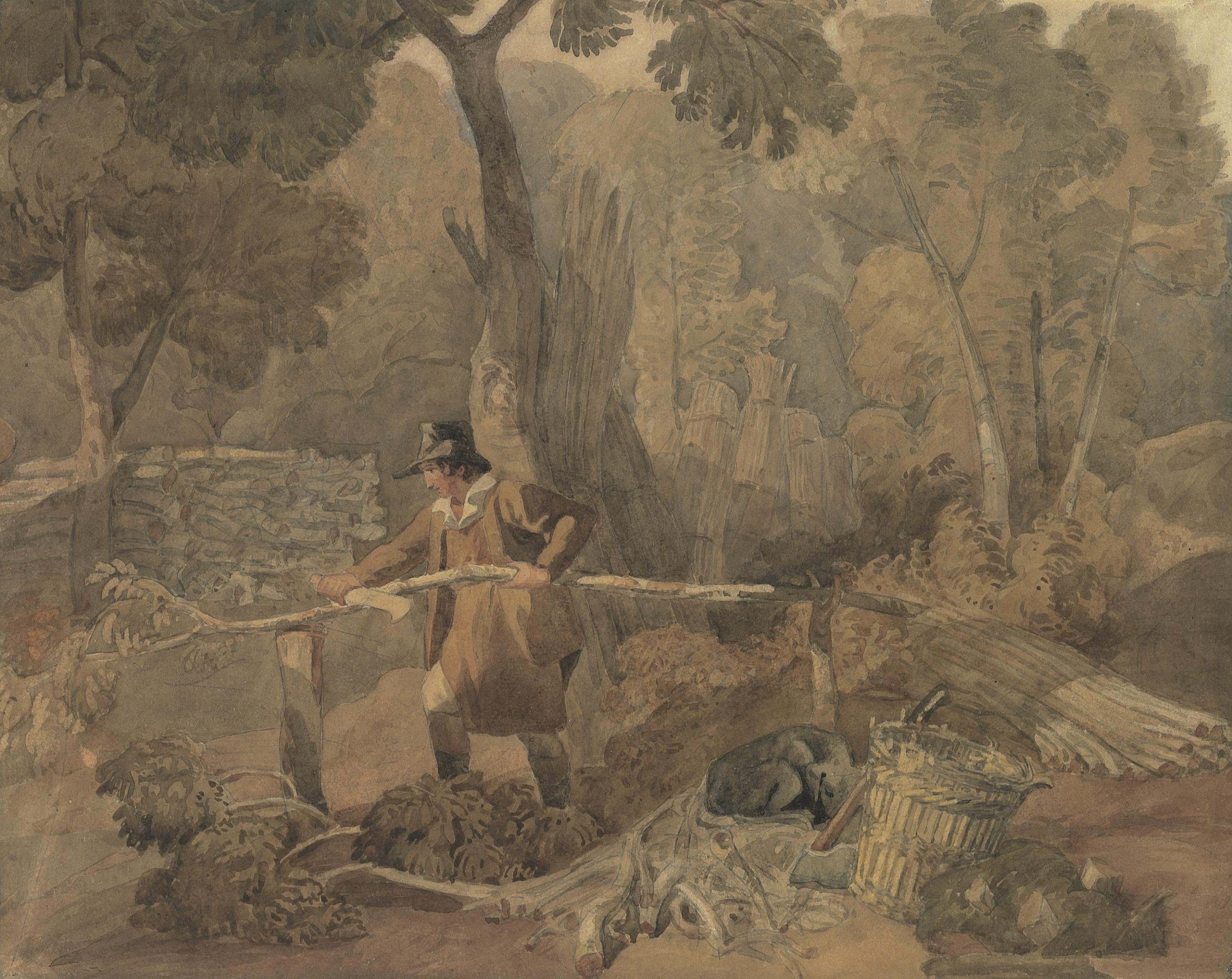 Joshua Cristall, P.O.W.S. (Cambourne 1763-1847 London)