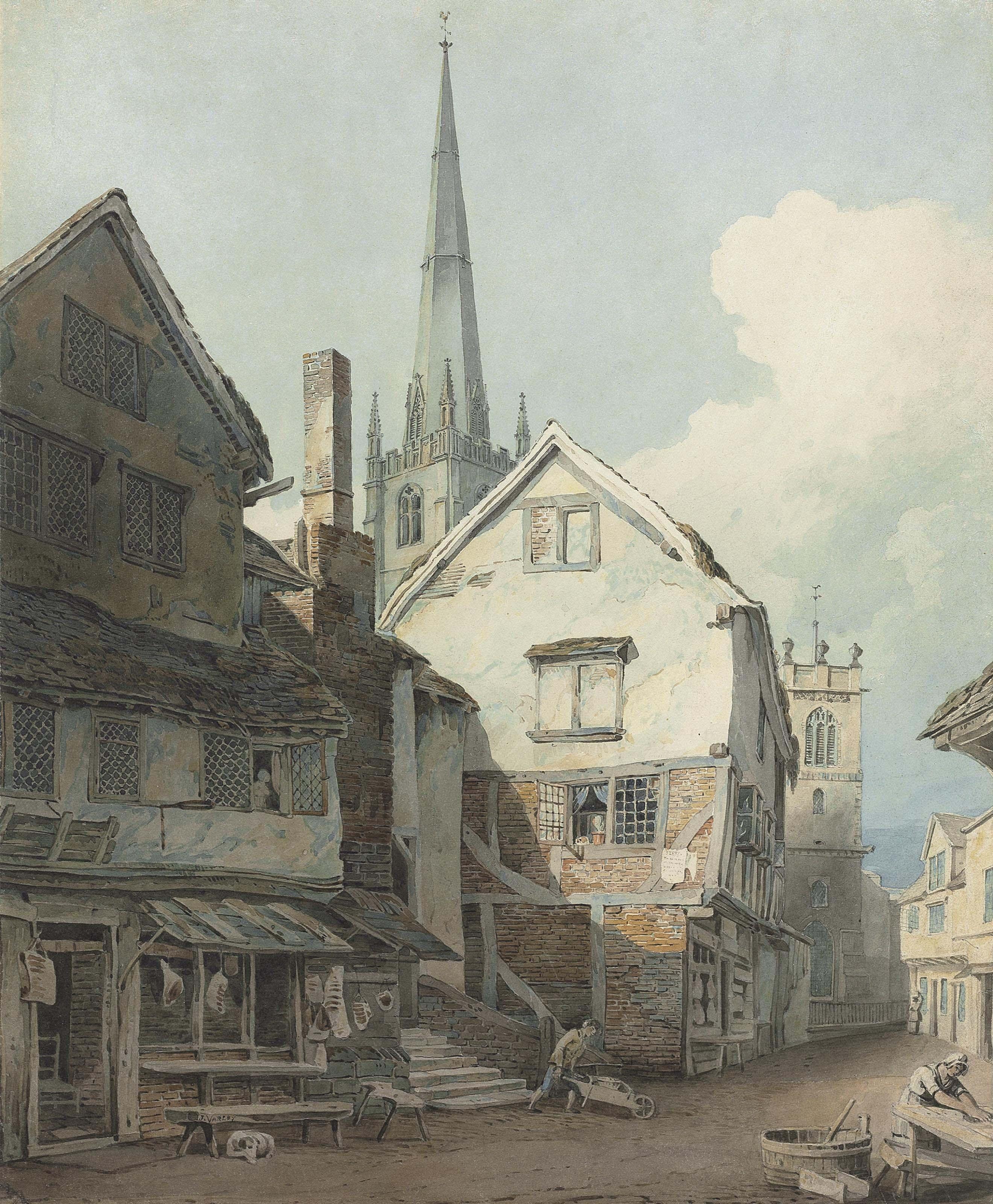 John Varley, O.W.S. (London 1778-1842)