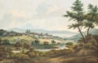 An extensive Italianate landscape