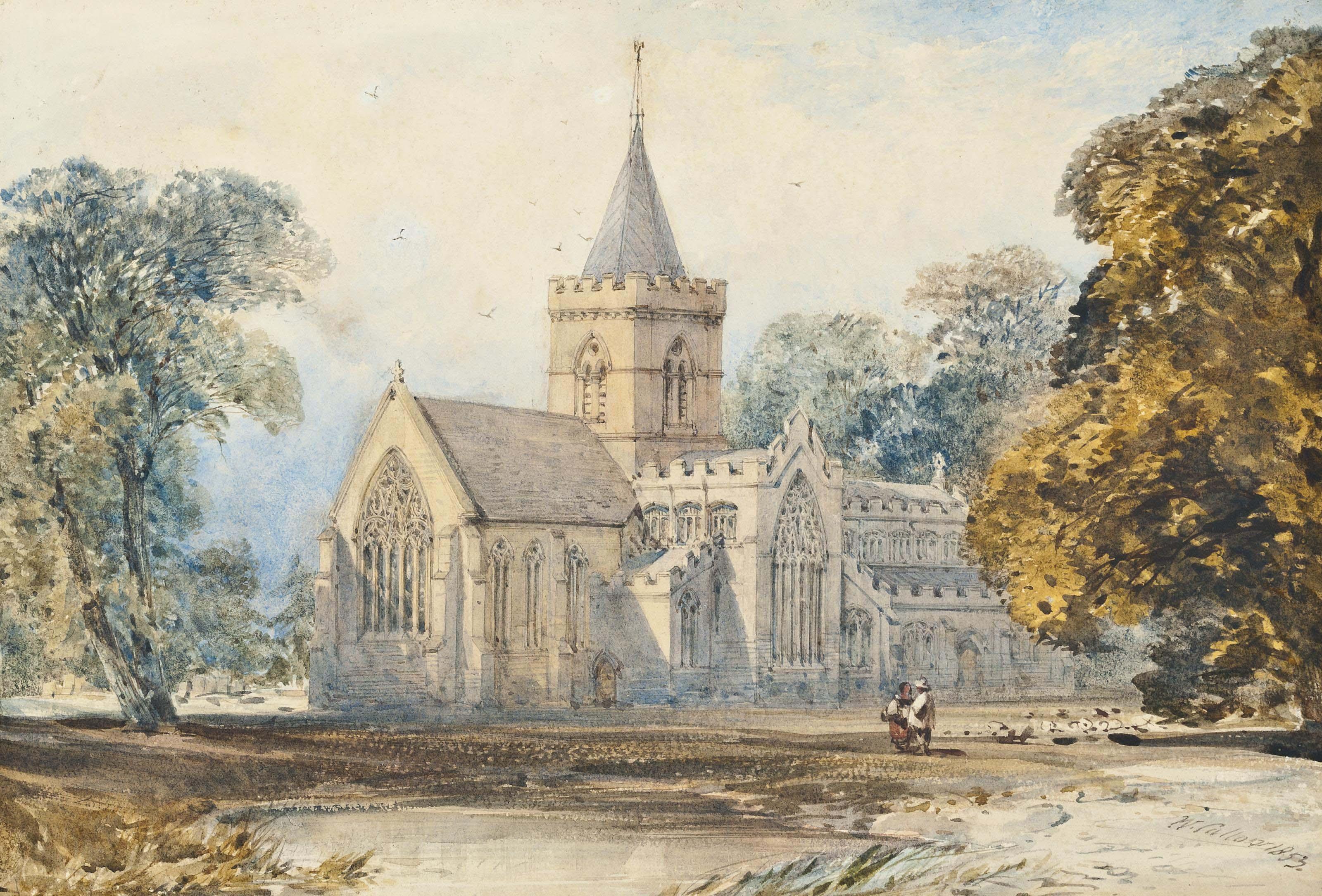 William Callow, R.W.S. (Greenwich 1812-1908 Great Missenden)
