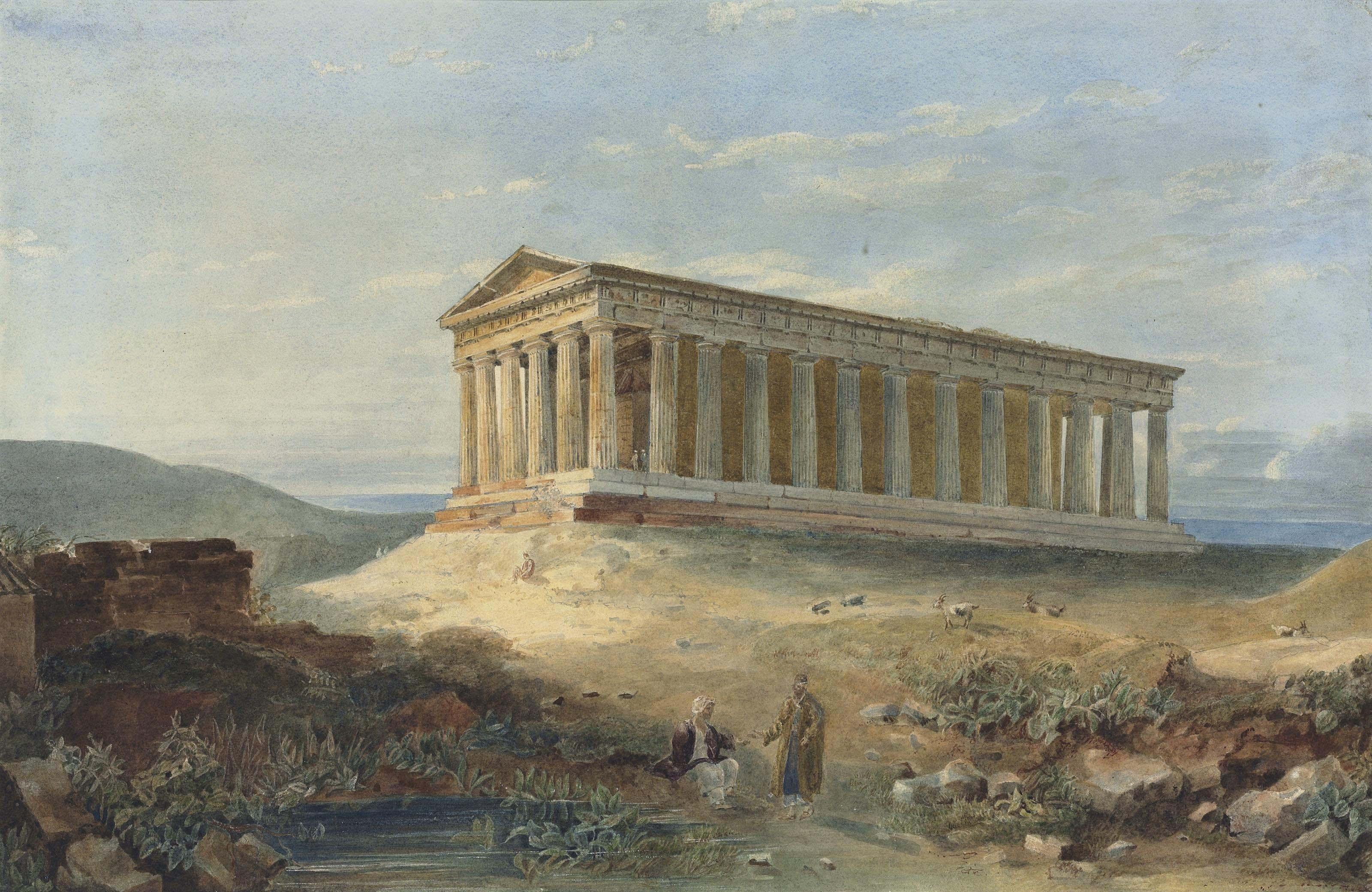 Hugh William 'Grecian' Williams (?Devon 1773-1829 Edinburgh)