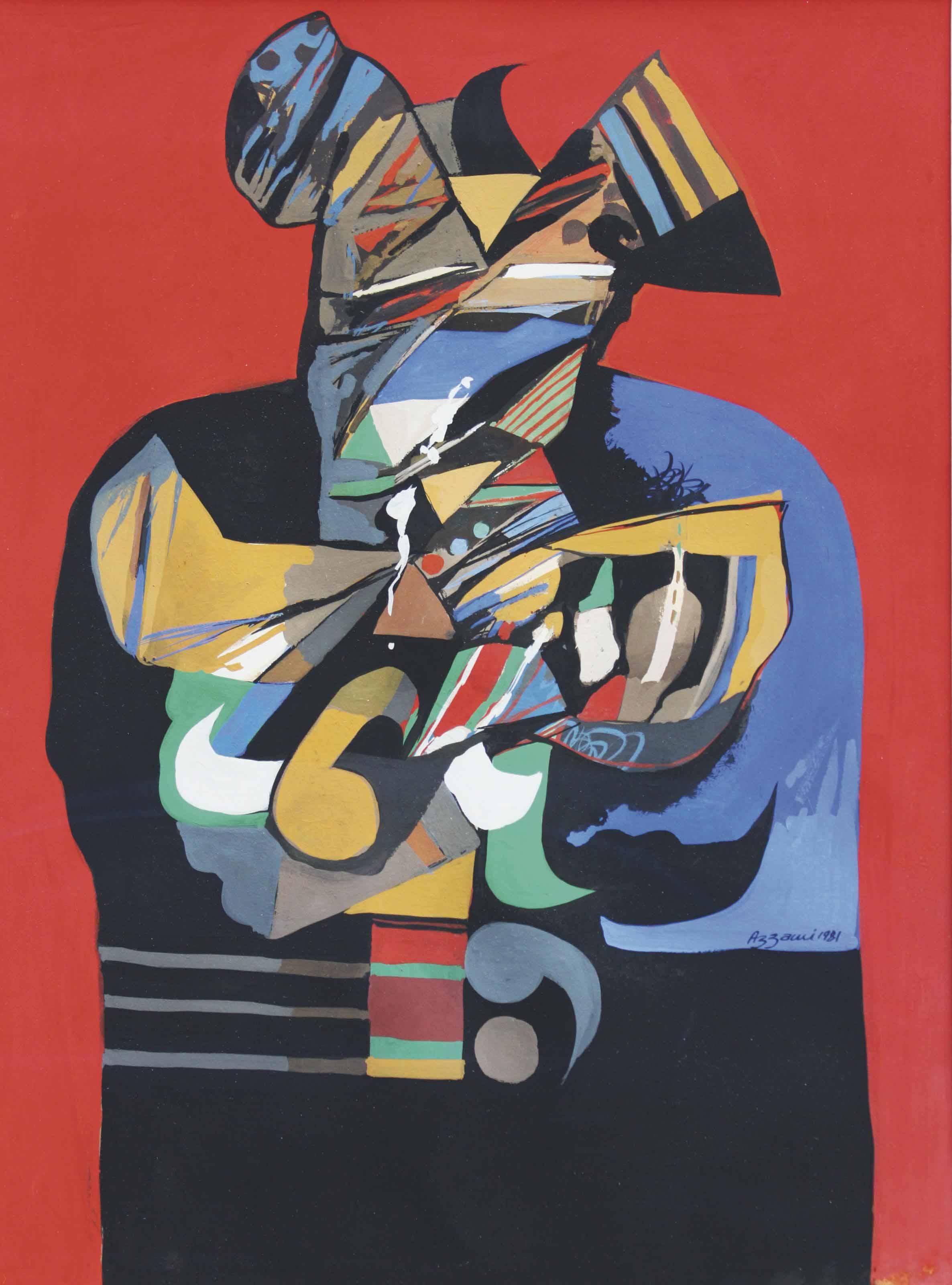 Diary V by DiaAzzawi | Cubist art, Middle eastern art, Art
