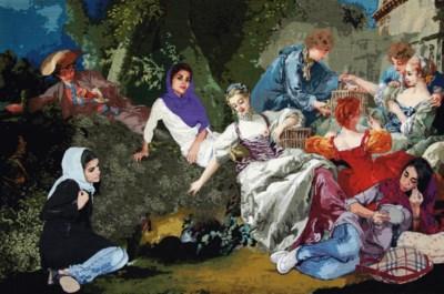 Ghazaleh Avarzamani (Iranian,