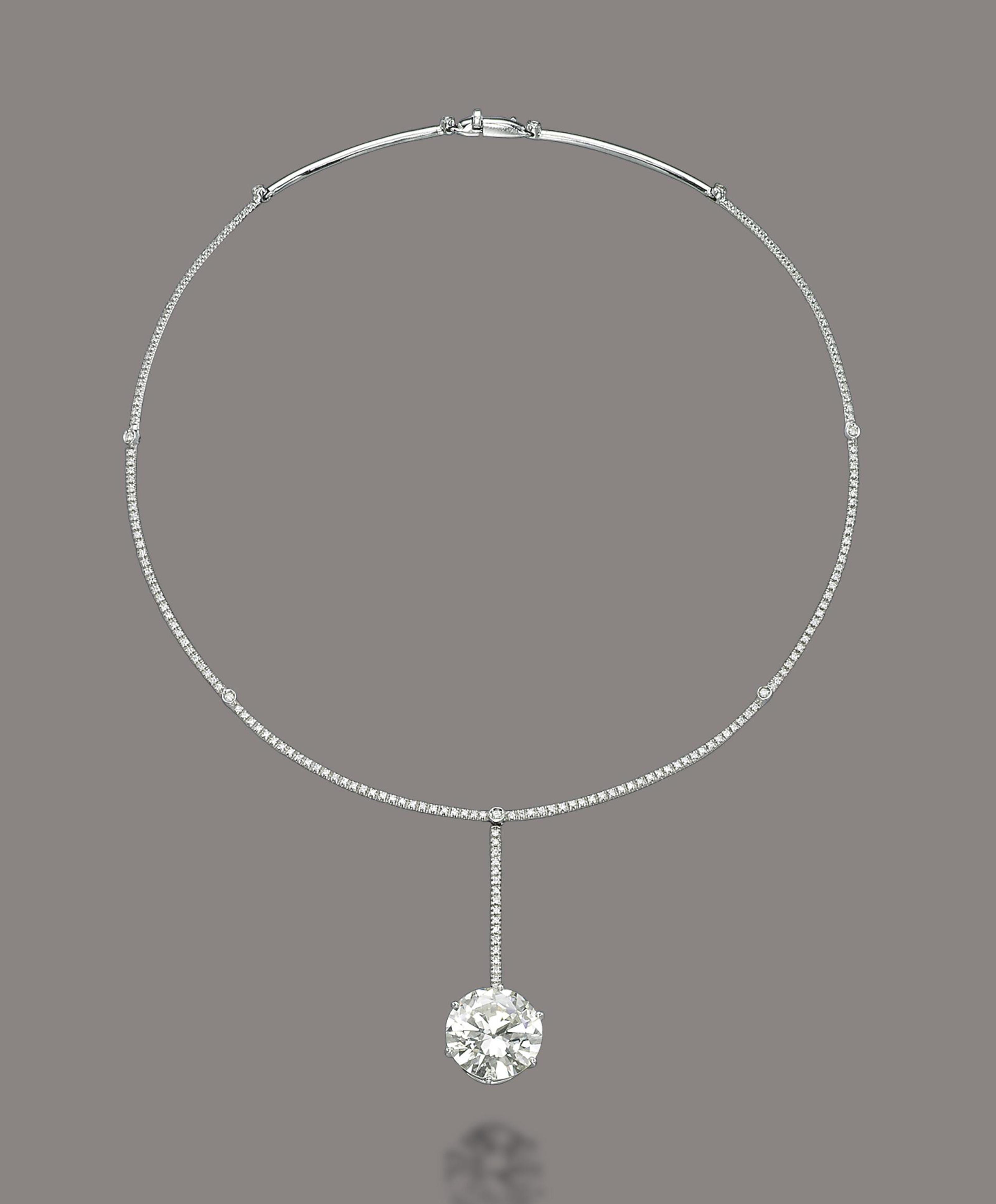 A DIAMOND NECKLACE, BY REPOSSI