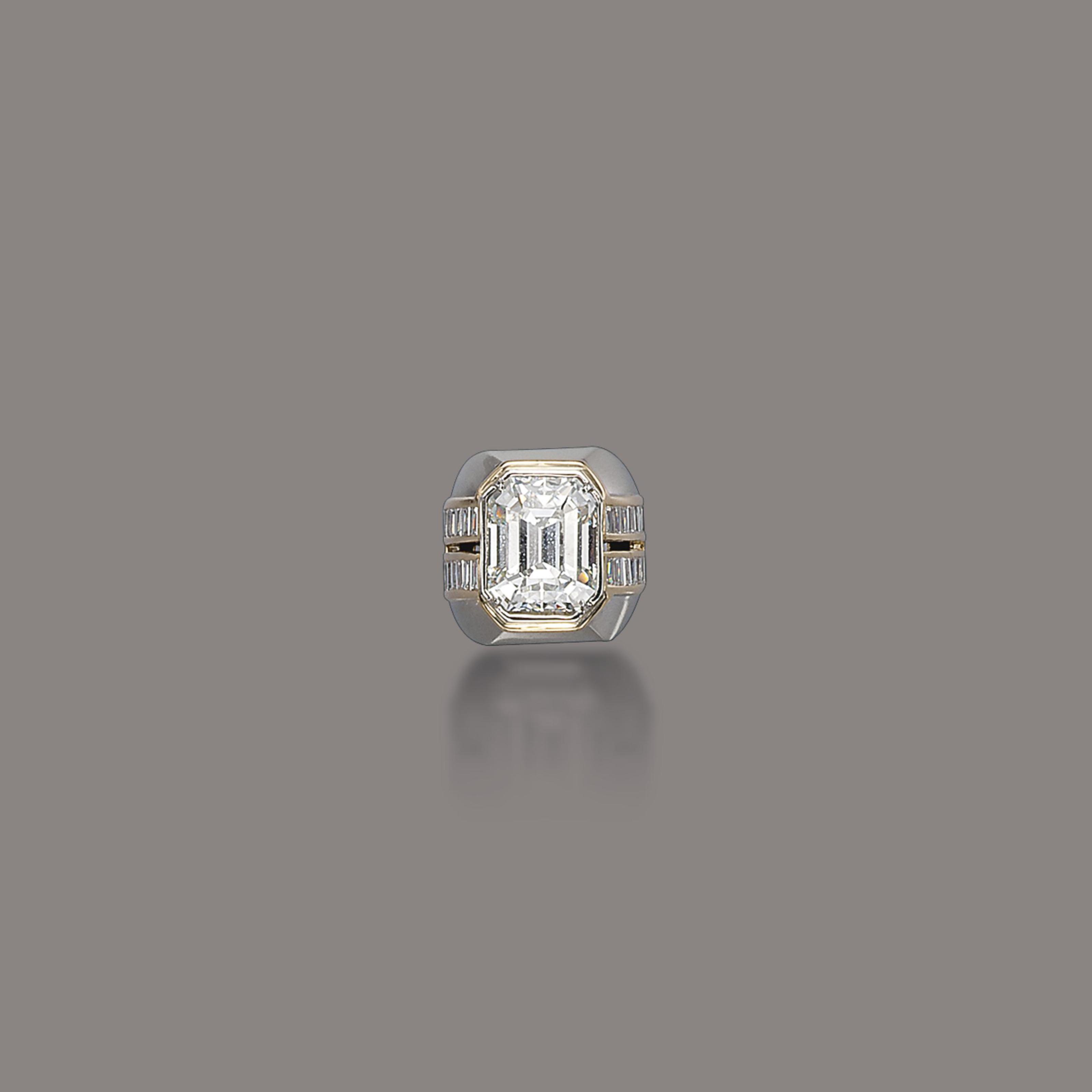 A DIAMOND RING, BY REPOSSI