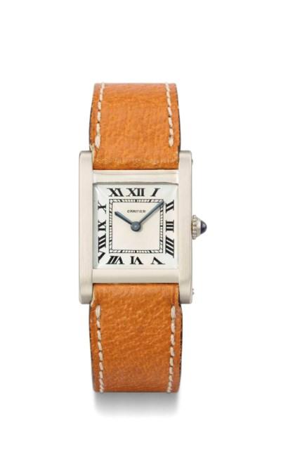Cartier. A fine and rare 18K w