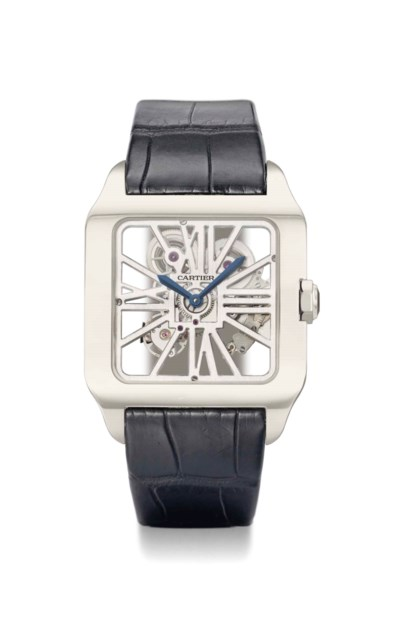 Cartier. A very fine 18K white
