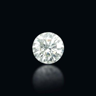 A STUNNING UNMOUNTED DIAMOND
