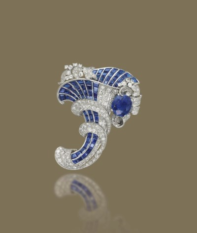 A SAPPHIRE, SYNTHETIC SAPPHIRE