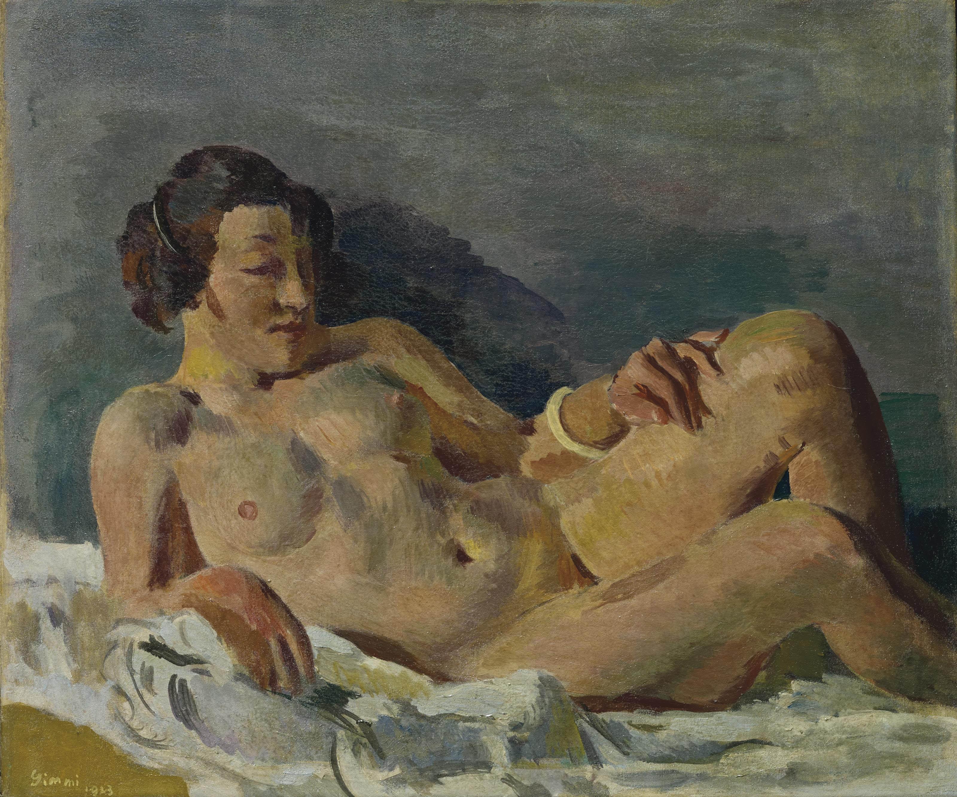 Nu couché, 1923