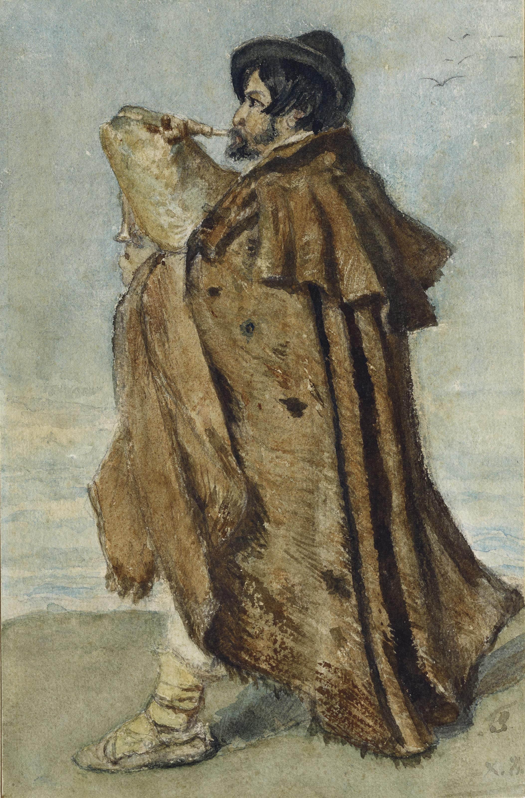 Dudelsackspieler, 1883