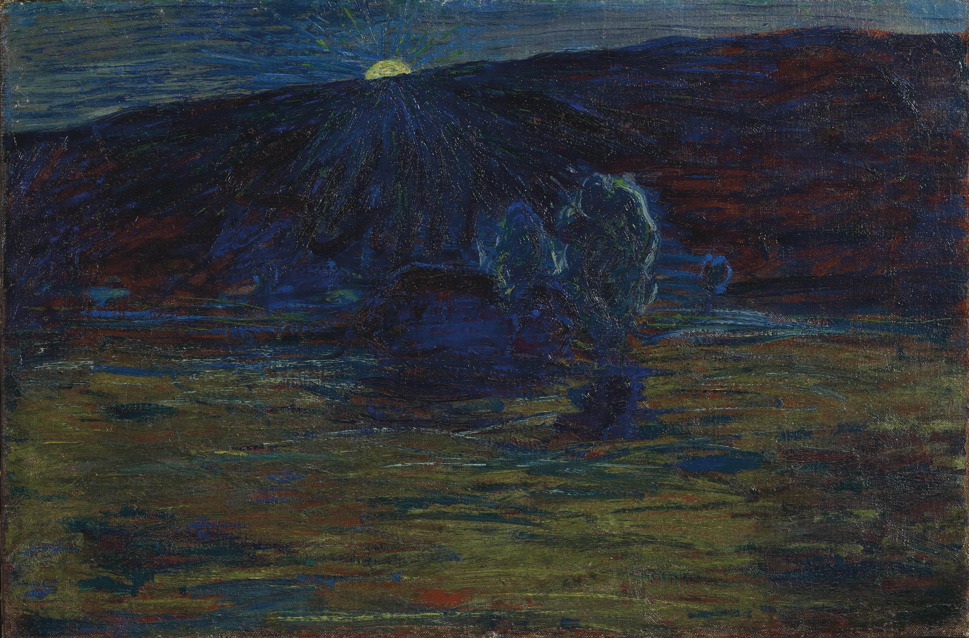 Tramonto, um 1885-86