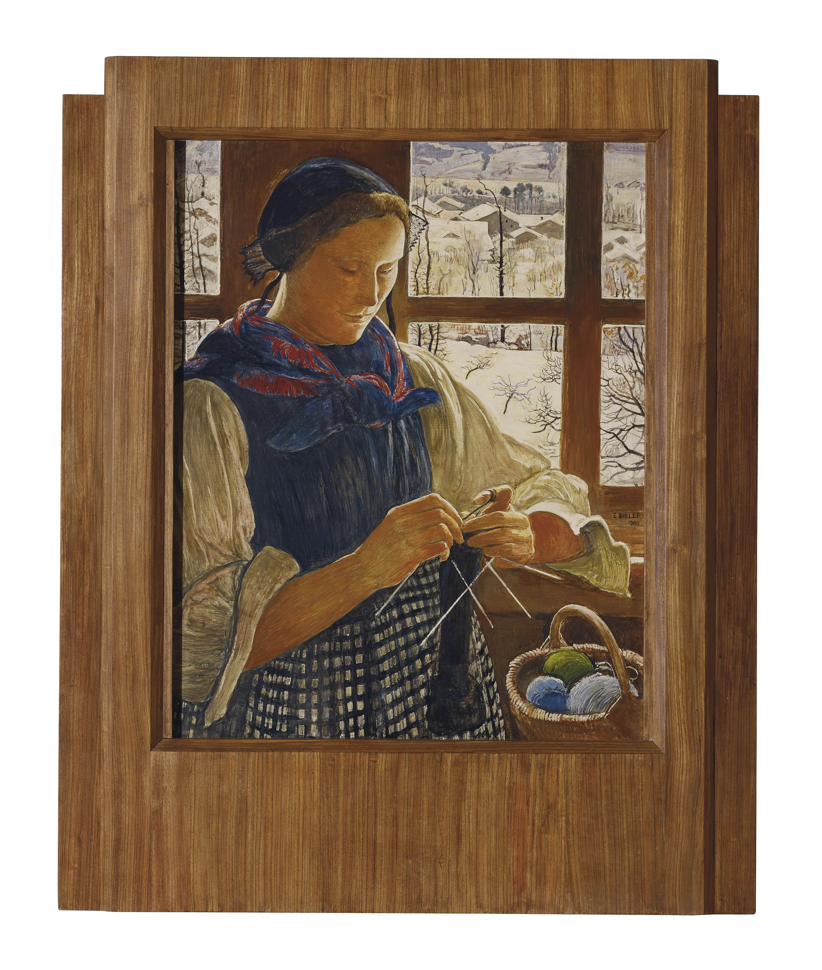 Rose à la fenêtre, 1940