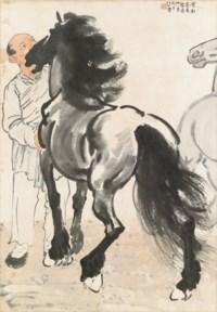 Admiring the Stallion