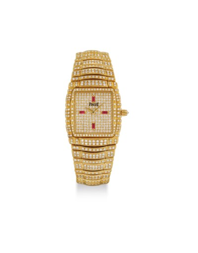 PIAGET. A FINE AND HEAVY 18K G