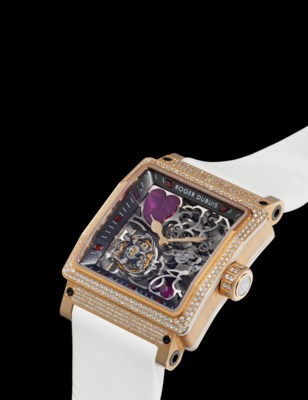 ROGER DUBUIS. A LADY'S FINE AN