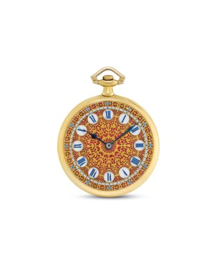 TOUCHON. A FINE 18K GOLD OPENF