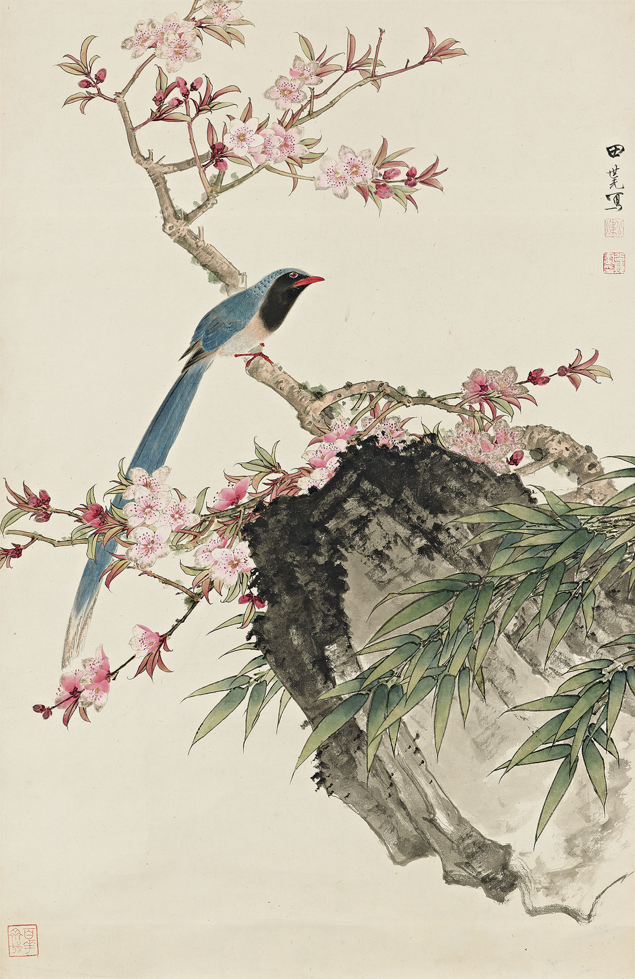 Plum Blossom and Birds
