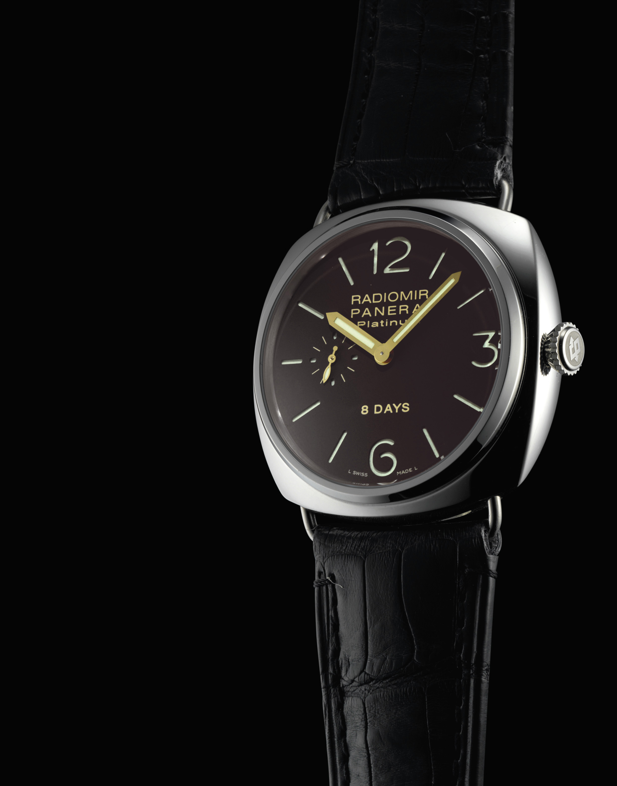 PANERAI. A FINE, RARE AND LARG