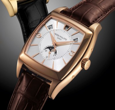PATEK PHILIPPE. A FINE AND LAR